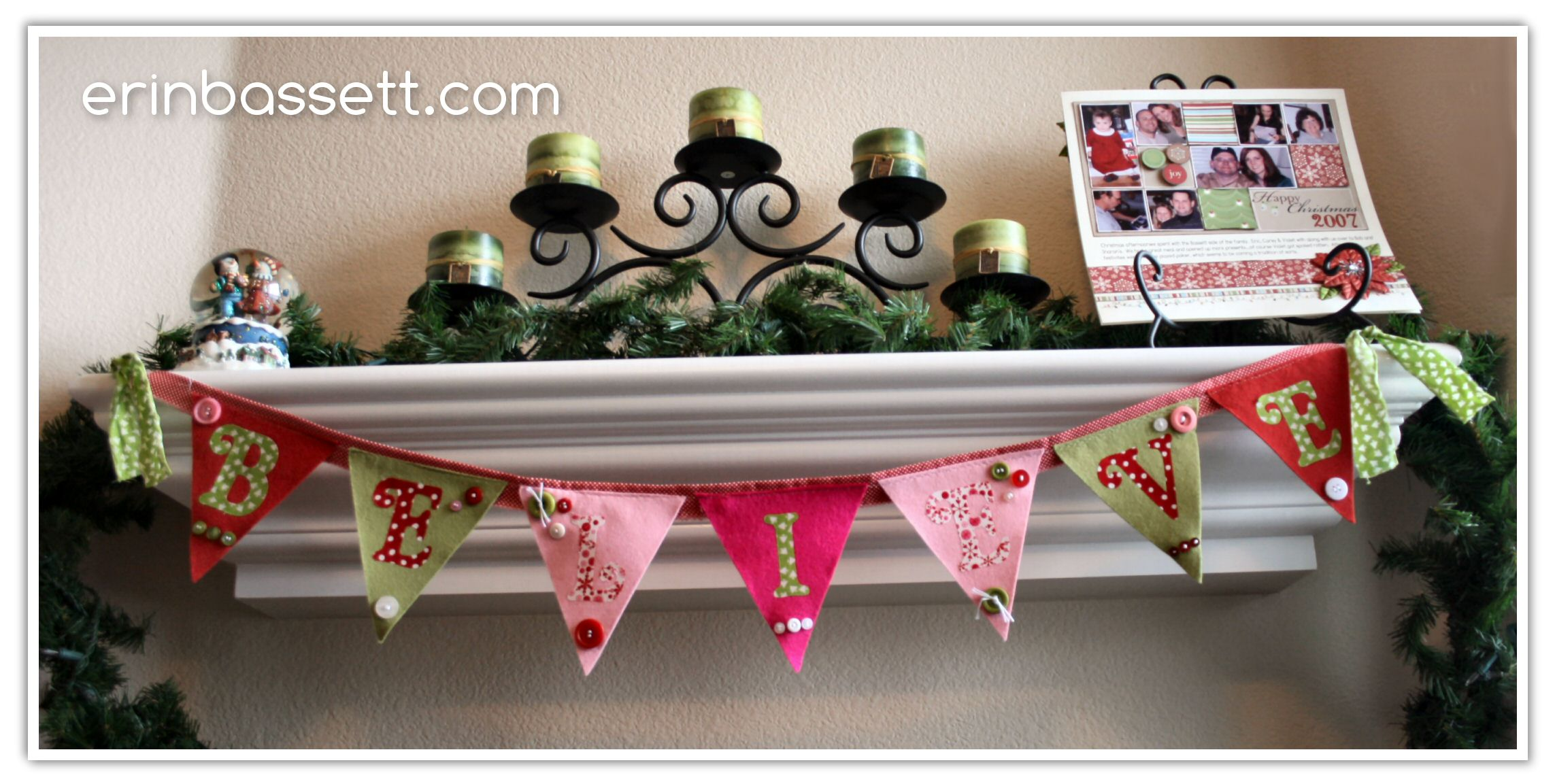 EPB-Sew Holiday Banner - Christmas