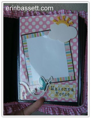 Mini Scrapbook Album - Baby