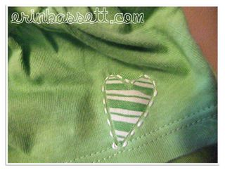 Erin_Bassett Saint Patrick's Day child's shirt sewing sleve