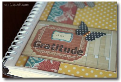 Erin_Bassett - 2011 Gratitude Journal CloseUp- My Book Planner