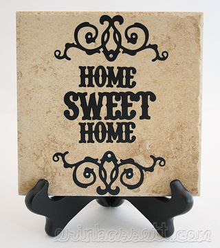 Blog - Erin Bassett - Cricut Viny on Tile