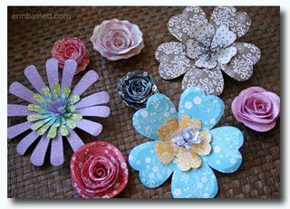 Imaginisce Roly Rosies and Pop Up Posies
