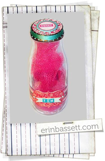 BLOG Erin Bassett - Imaginisce - Altered Frap bottle
