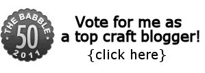 Vote for the top craft blogger