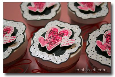 Erin Bassett - Judikins Embossing Powder - Unity Stamps 1CloseUp