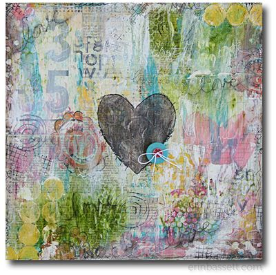 Erin Bassett - Canvas - Love