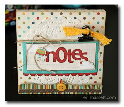 BLOG Erin Bassett - Imaginisce - Matchbook Notes