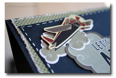 BLOG Erin Bassett - Imaginisce - Fly Away Card