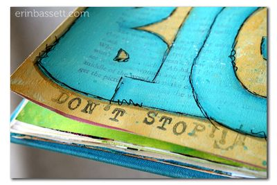 Erin Bassett - Art Journal - Dream Big