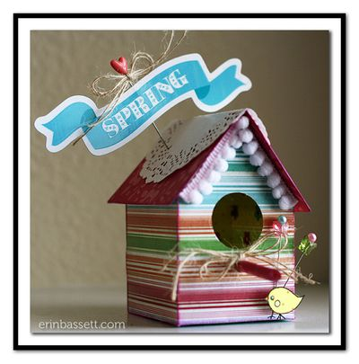 BLOG Erin Bassett - Imaginisce - Bird House1
