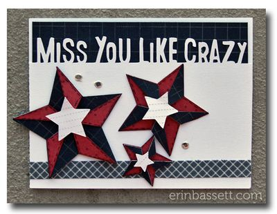 BLOG Veteran's Day Card 2011 - Miss you like crazy b - Erin Basset
