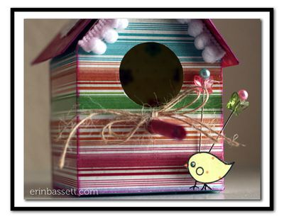 BLOG Erin Bassett - Imaginisce - Bird House CloseUp1