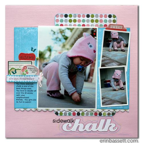 BLOG Erin Bassett - SS January - Sidewalk Chalk