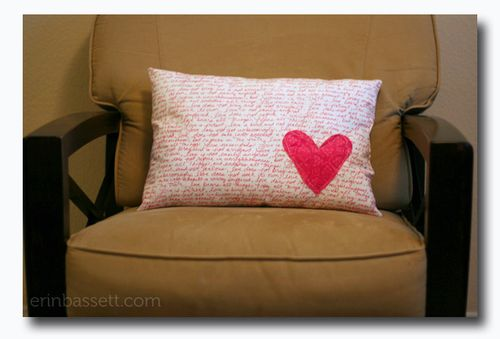 Erin Bassett - Love Is - Pillow