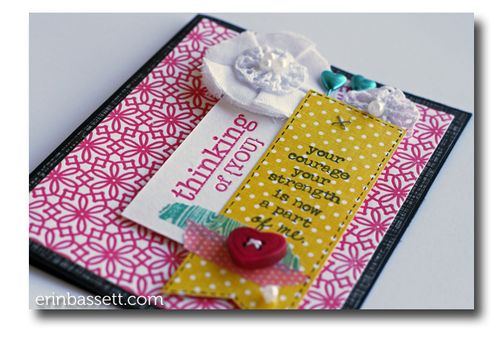 Erin Bassett - Lifestyle Crafts - Blossom - Card1