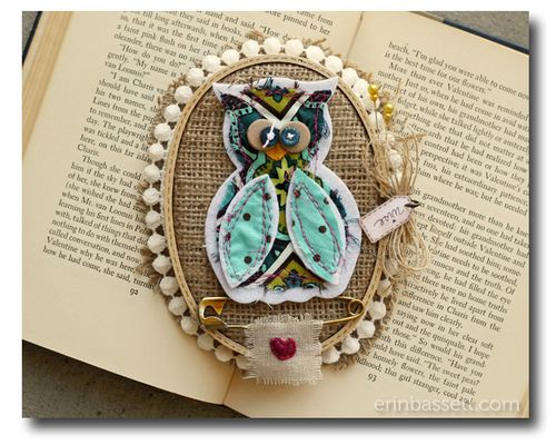 BLOG - Erin Bassett - Owl Wall Decor