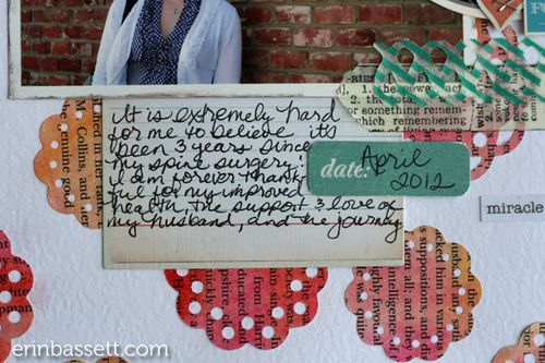 Erin Bassett - Lifestyle Crafts -Doily -Scrapbook2