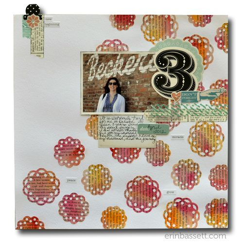 Erin Bassett - Lifestyle Crafts -Doily -Scrapbook1