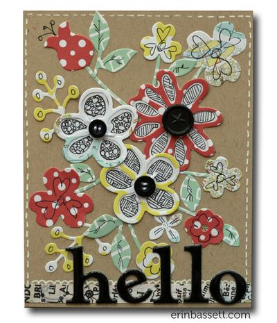 Erin Bassett - Lifestyle Crafts -Bloom - Flower Card1
