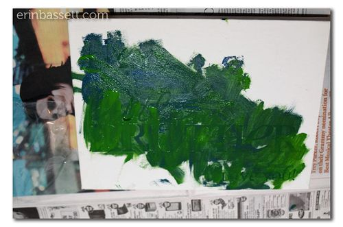 Erin Bassett - Kid's Art - Painted Canvas4