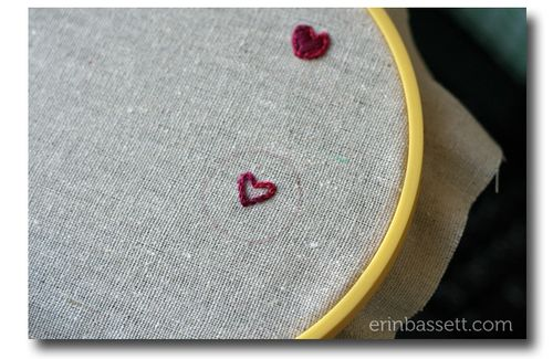 Erin Bassett - Embroidered Hearts