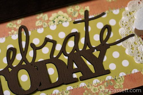 Erin Bassett - Celebrate Today - Silhouette Cameo - Basically Bare 3