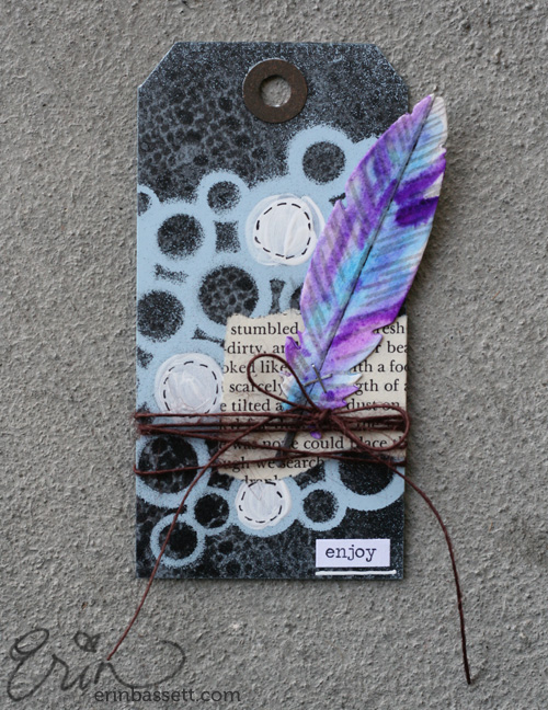 Erin Bassett - Lifestyle Crafts - Feather10