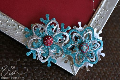 Christmas Snowflake Frame 2 - Lifestyle Crafts - Erin Bassett