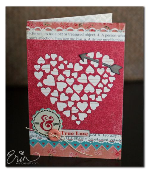 Me and You Valentine Card - Erin Bassett