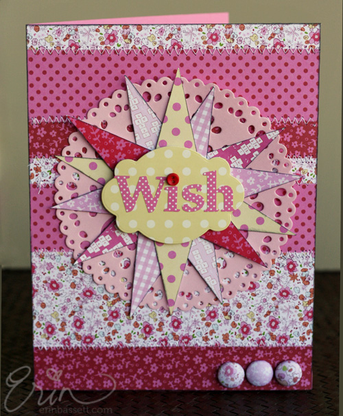 Making Memories Wish Card