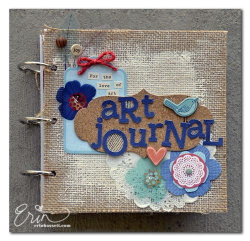 BLOG Erin Bassett - Art Journal - Cover 1