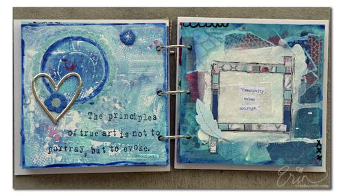 BLOG Erin Bassett - Art Journal - Page 1
