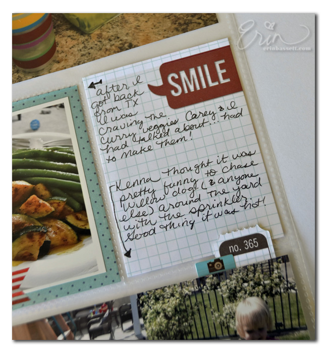 Project Life - Scan N Cut - Journaling