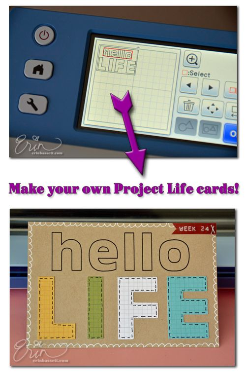 Project Life - Scan N Cut