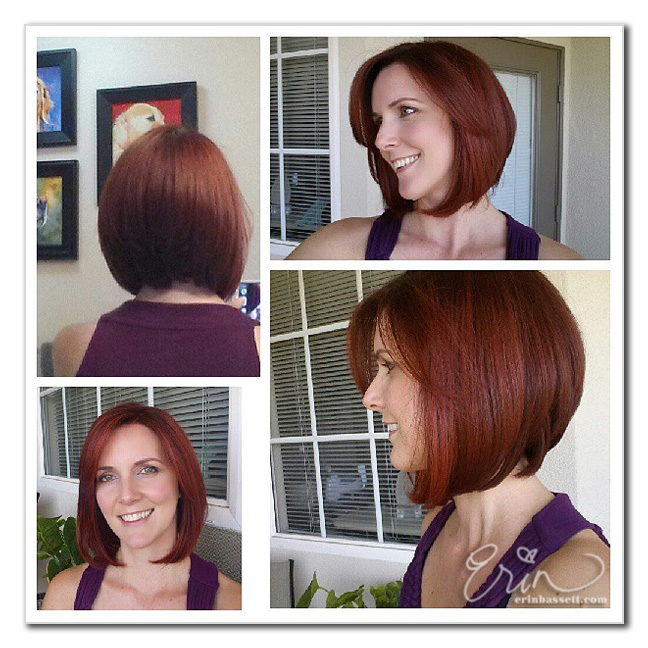 Erin Bassett - Summer Hair Cut