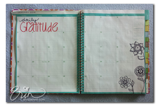Daily Art Journal - Gratitude1