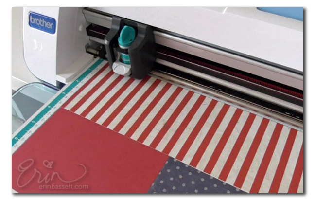 WEB Patriotic - Woven Placemat and Cupcake Topper Tutorial