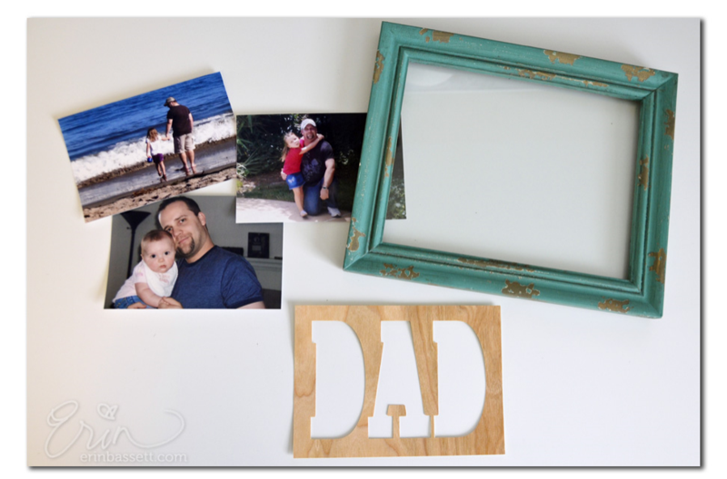 ScanNCut - Dad Photo Frame - 1b Cut Text