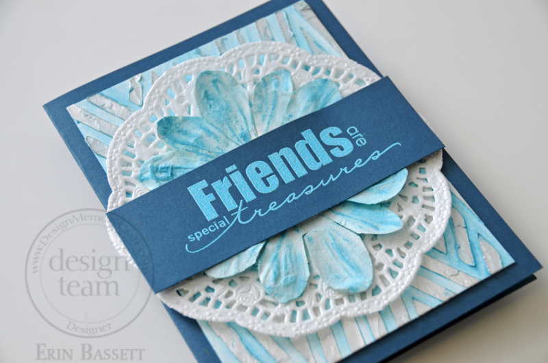 Friends Card - step1