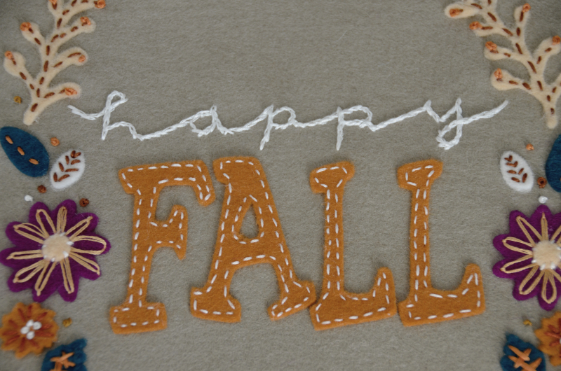 Fall Wool Felt Applique2