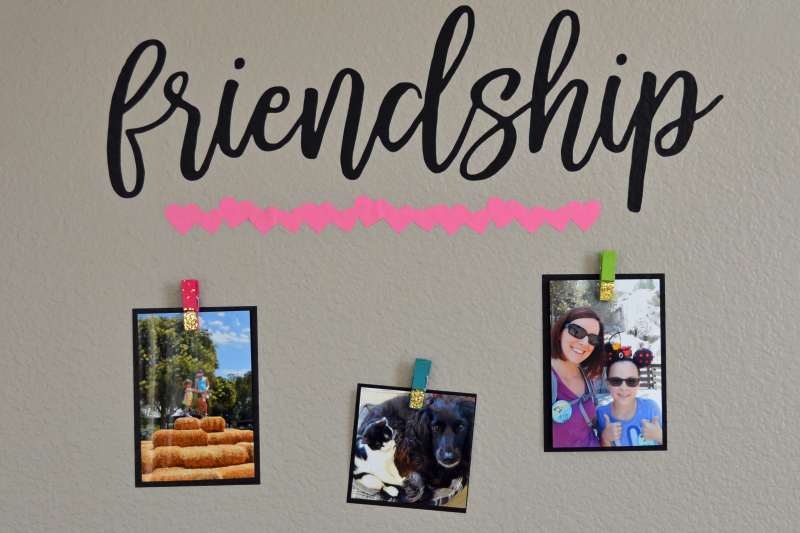 Friendship Wall Art Viny1l