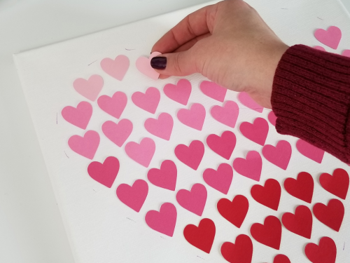 ScanNCut Valentine's Heart Canvas