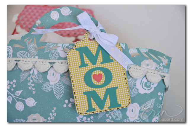 ScanNCut Mother's Day tag