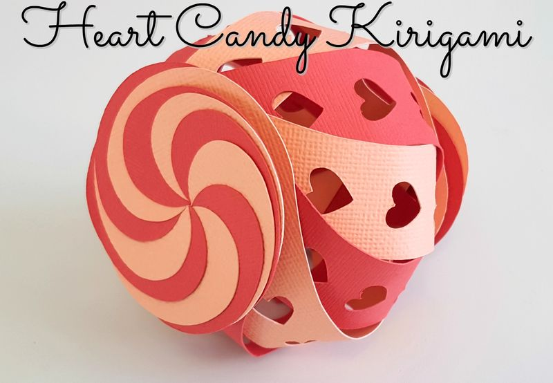Heart Candy Kirigami - Title