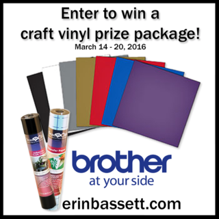 Prize Package - Brother Craft Vinyl Dated