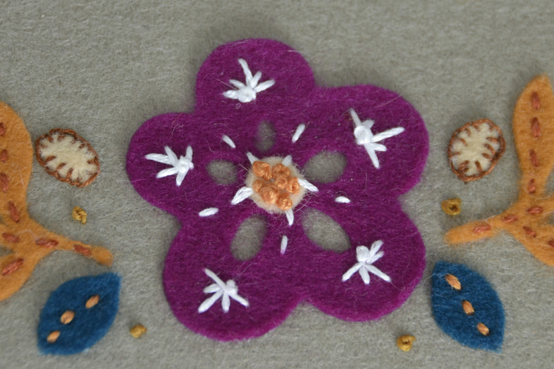 Wool Felt Applique step 6