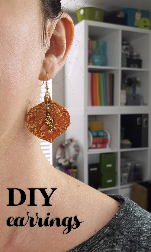 Cinnamon Gelatos - DIY Fall Earrings