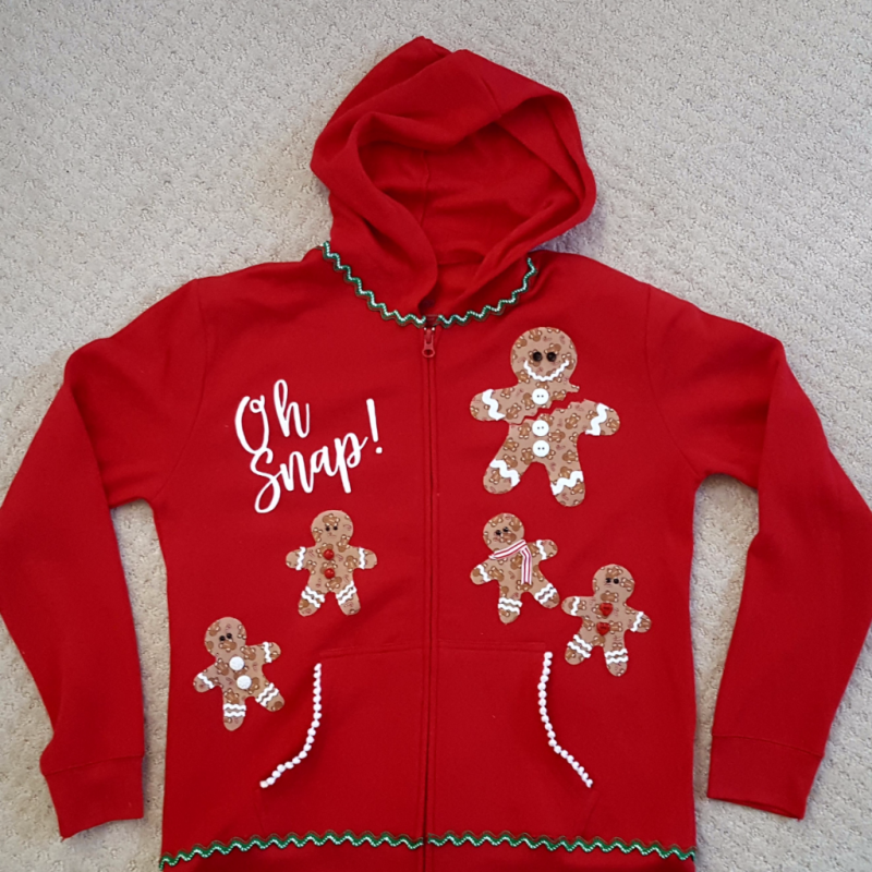 DIY Ugly Christmas Sweatshirt