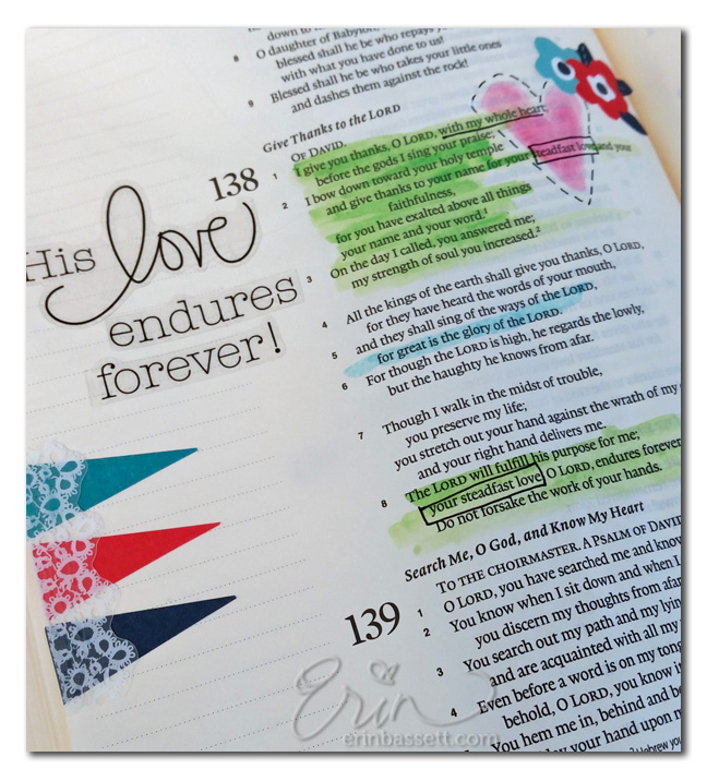 God's love endures forever 3 - Erin Bassett