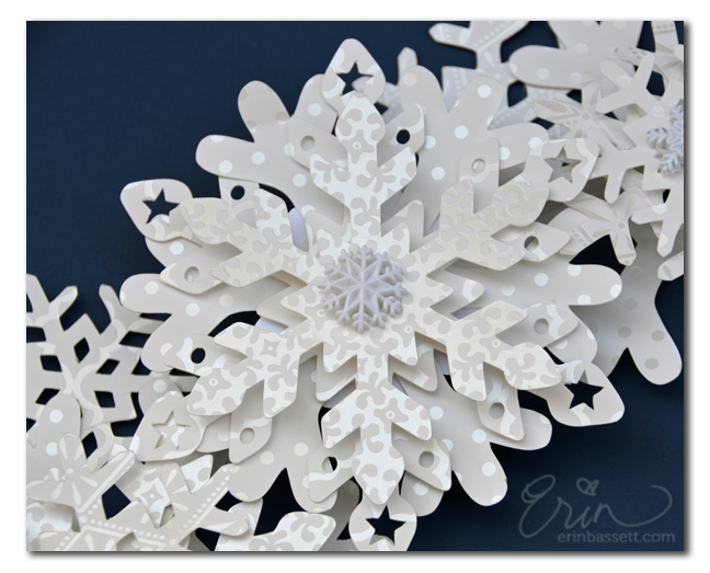 Snowflake Wreath CloseUp2